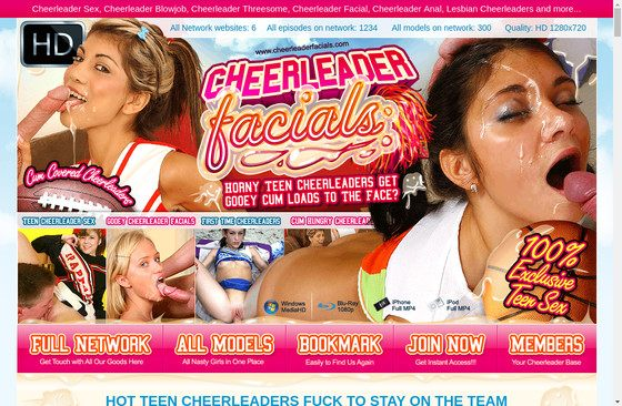 Cheerleader Facials