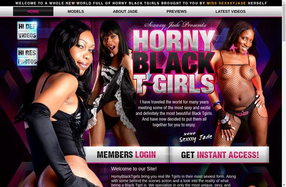 Horny Black T Girls