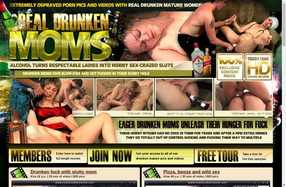 Real Drunken Moms