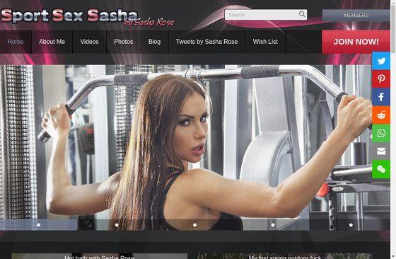 Sport Sex Sasha