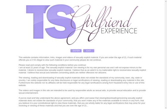 Ts Girlfriend Experience