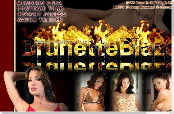 Brunette Blaze