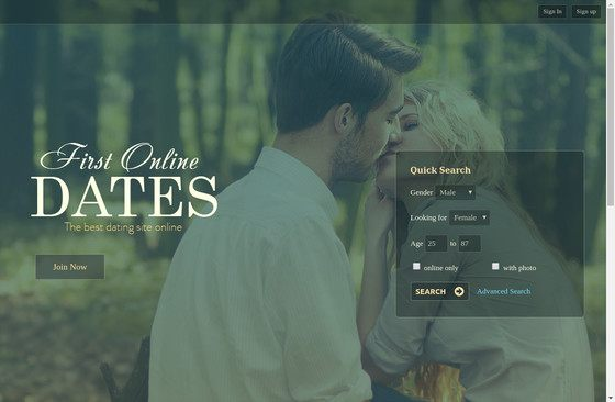First Online Dates