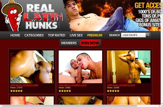 Real Latin Hunks