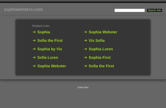 Sophia Winters