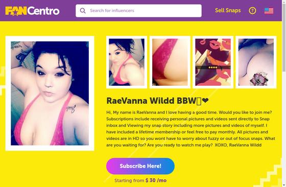Rae Vanna Wildd BBW