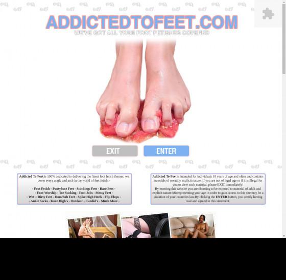 addicted to feet