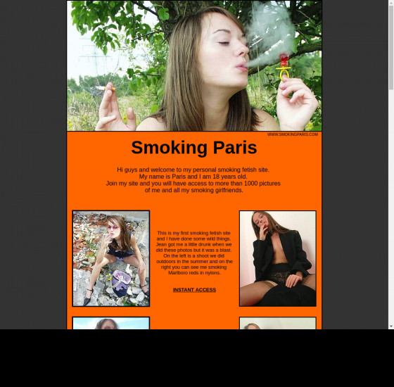 smoking paris