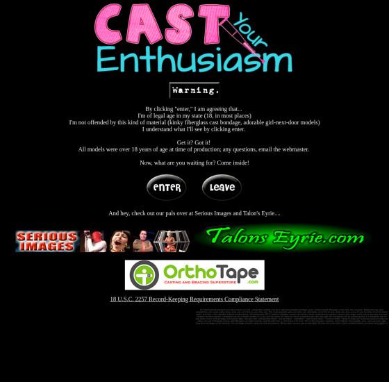 cast your enthusiasm