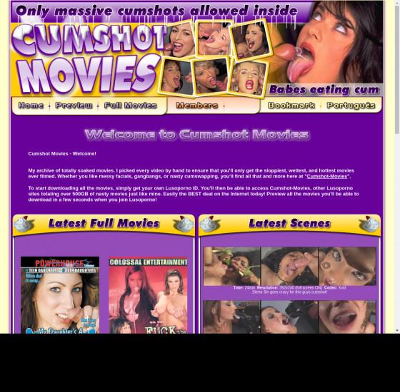 cumshot movies