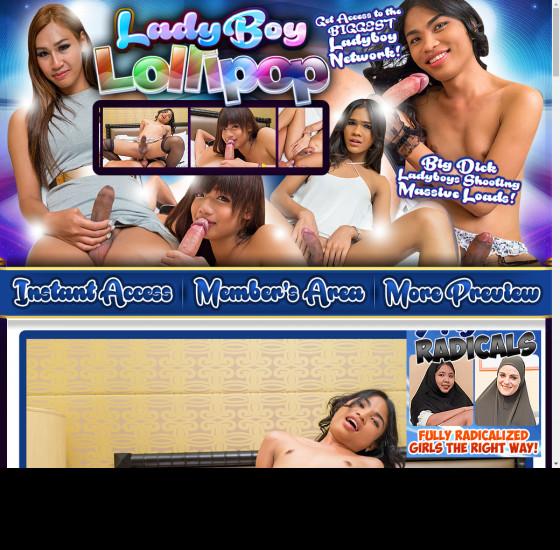 ladyboy lollipop