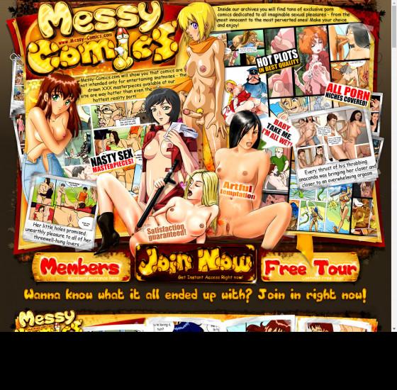 messy comics