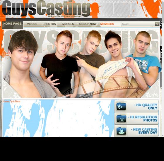 guys casting